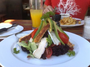 Lunch at The Toad, Noordhoek