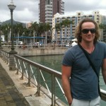 In Port Louis, just before we hit the markets